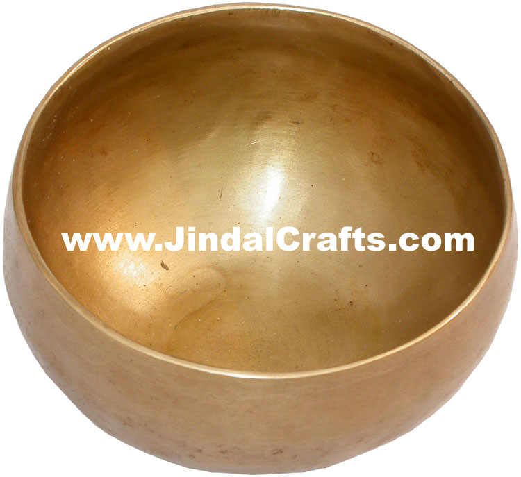 Handmade Brass Bronze Five Metals Seven Metals Singing Bowl India Buddhisht Arts
