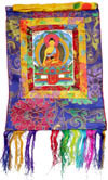 Hand Painted Tibetan Thangka Painting Indian Budda Art