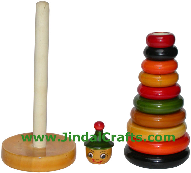 Abacus - Handmade Wooden Educational Toy from India
