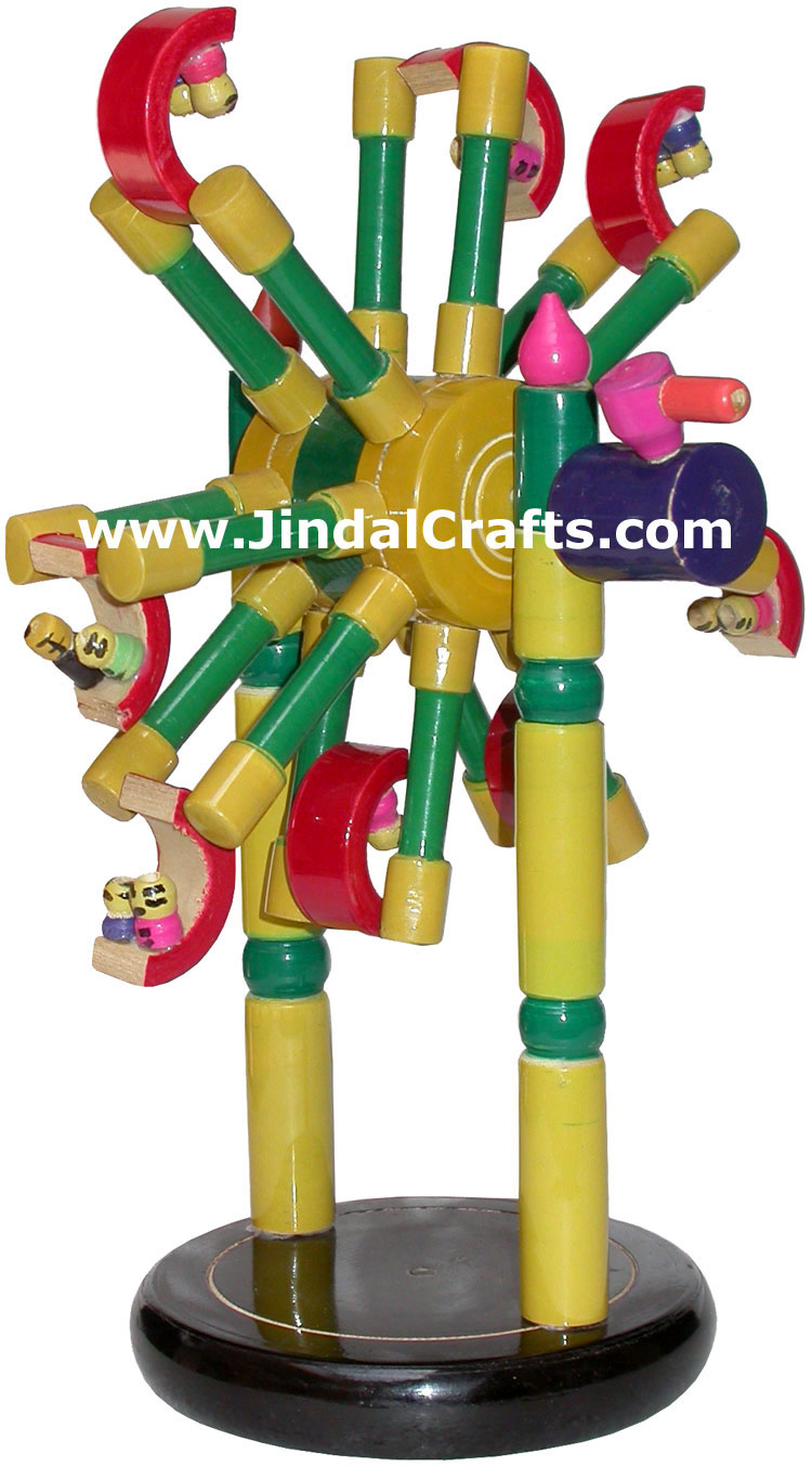 Joy Ride - Handmade Wooden Toy from India