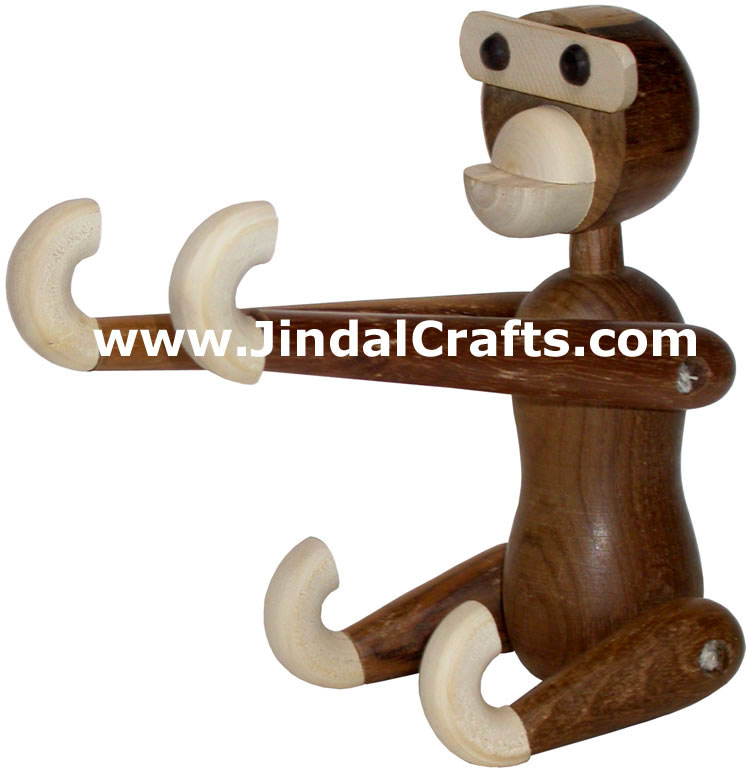 Monkey - Handmade Wooden Folding From India
