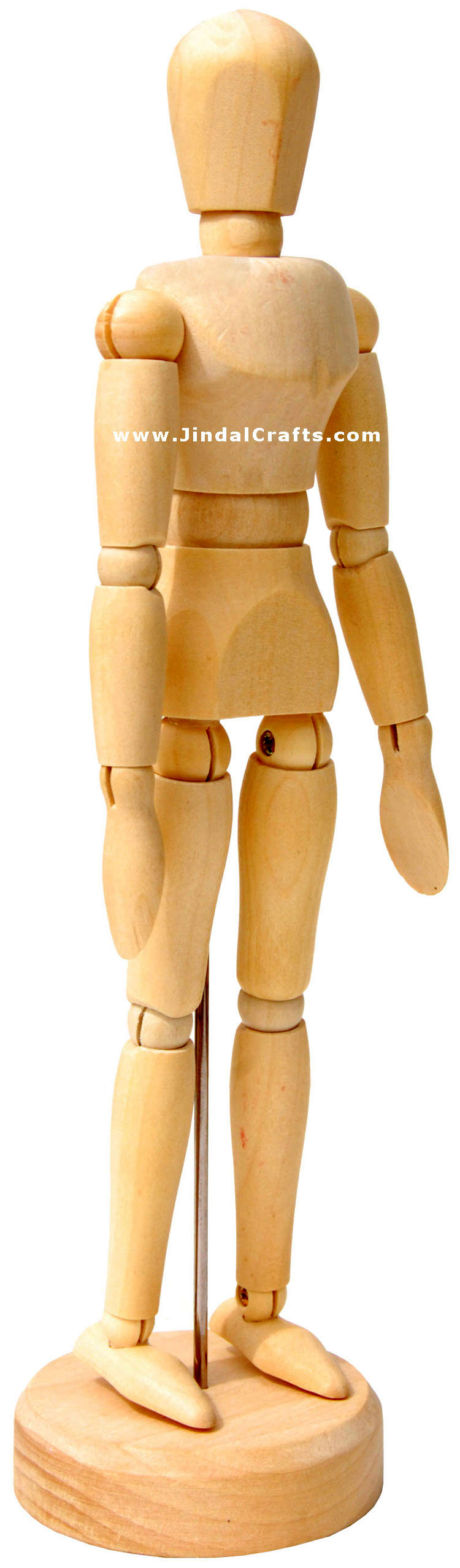 handmade wooden free body toy india traditional