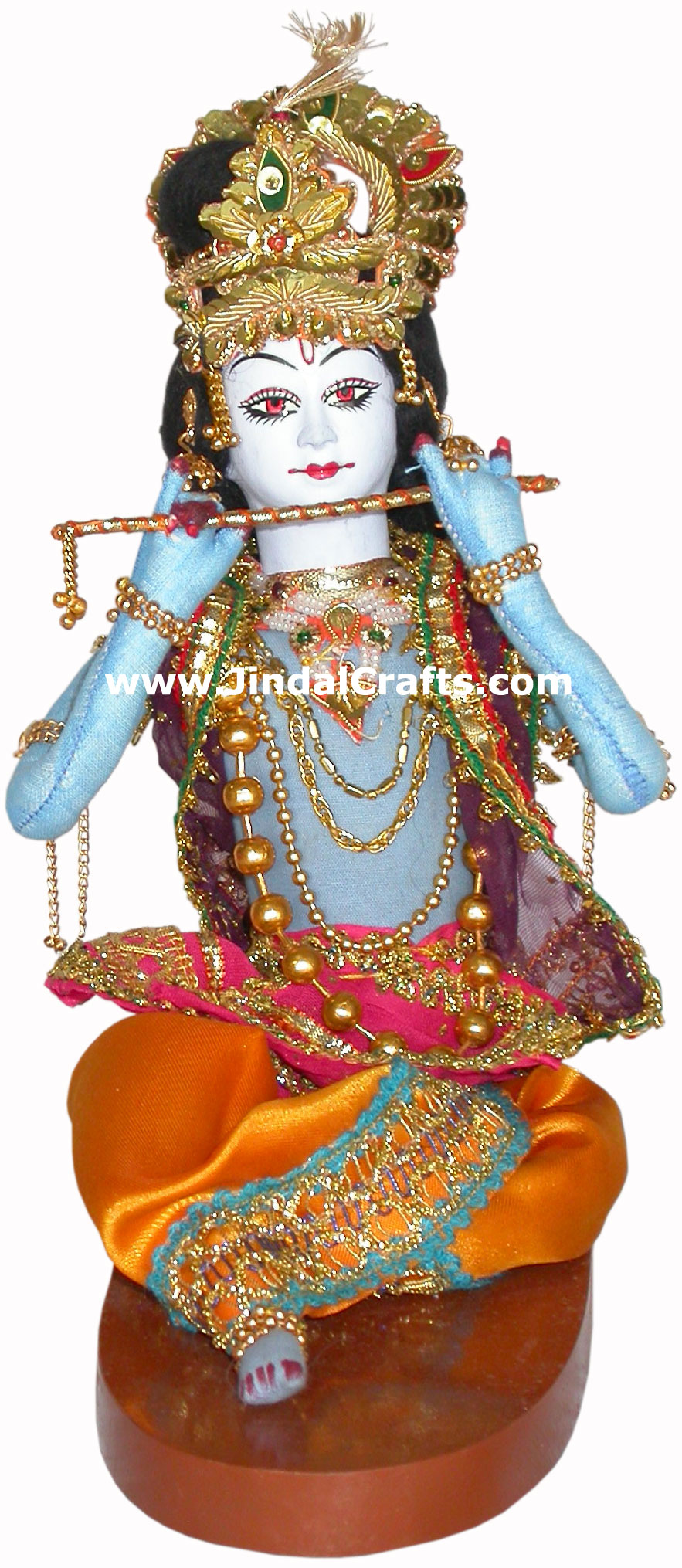 Lord Krishna Handmade Traditional Indian Collectible
