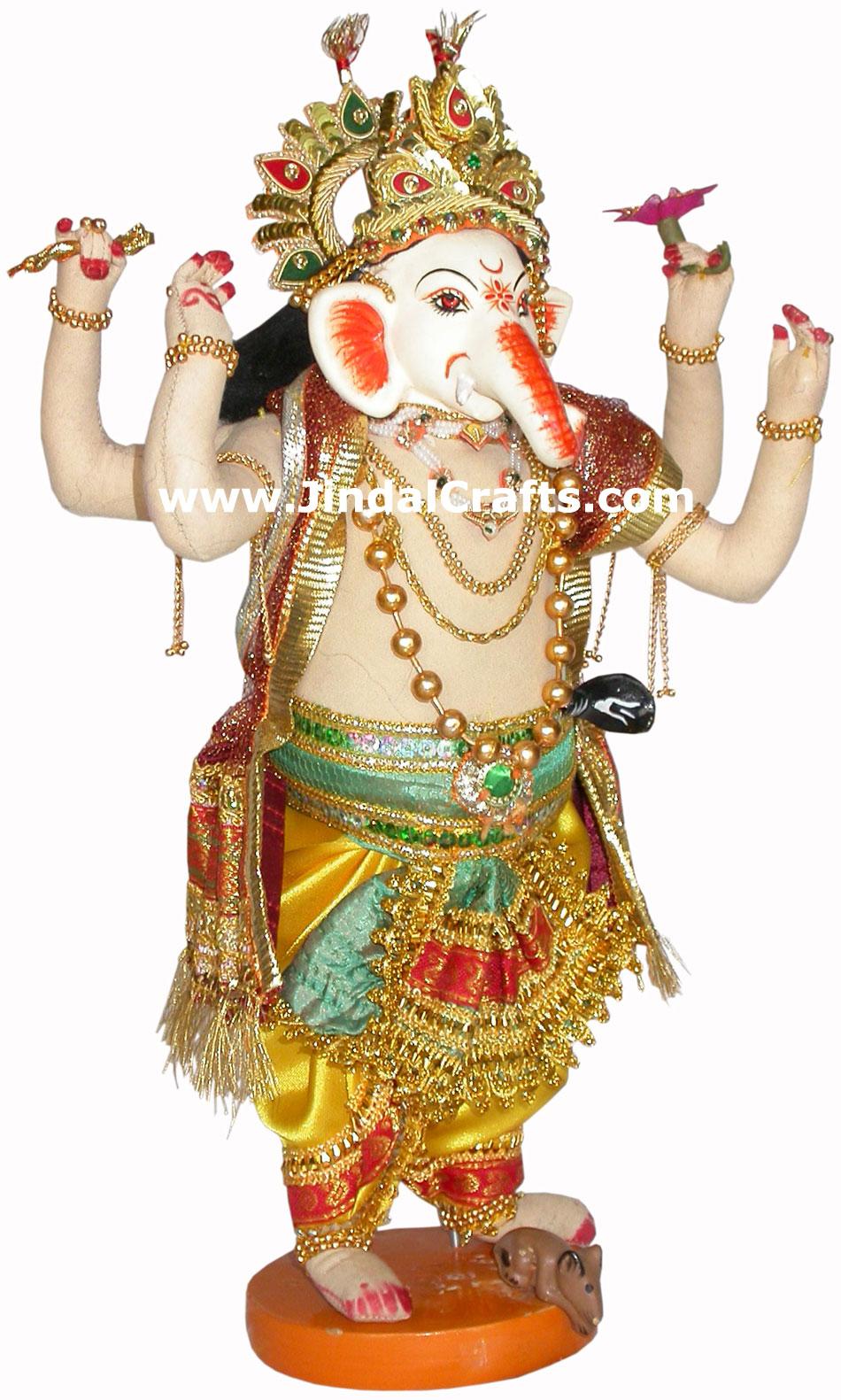 Lord Ganesha Handmade Traditional Indian Collectible