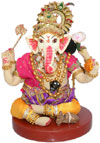 Lord Ganesha Handmade Traditional Indian Collectible Costume Doll Home Decor Art