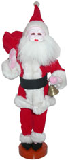 Handmade Traditional Costume Decorative Doll India - Santa Clause Christmas Arts