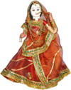 Ethnic Doll - Indian Art Craft Handicraft Traditional Figure