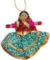 Handmade Traditional Hanging Doll Indian Art Home Decor Handicrafts Souvenirs