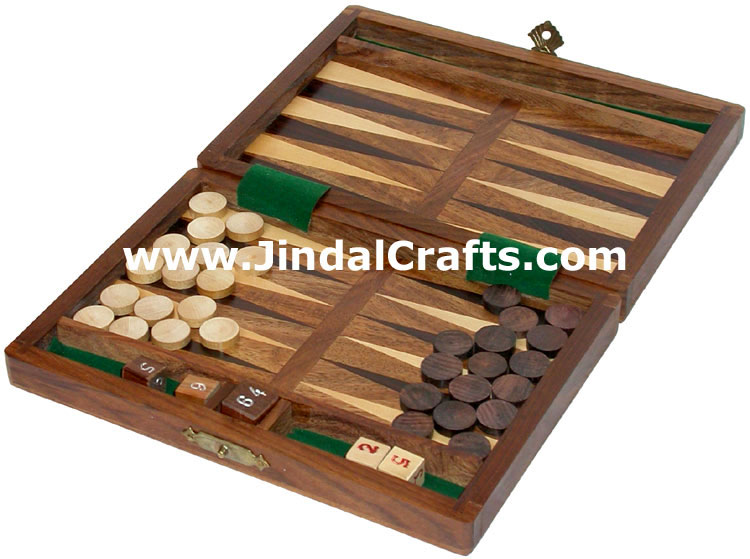 Backgammon - Handmade Wooden Game