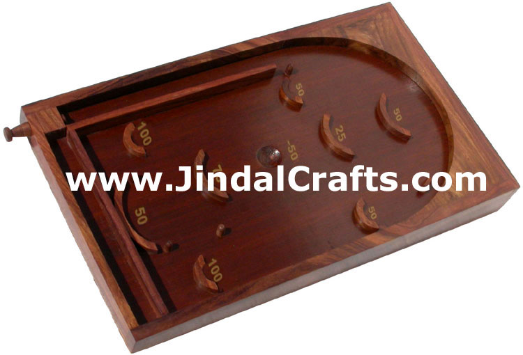 Wood Bagatelle - Handmade Wooden Traditional Game