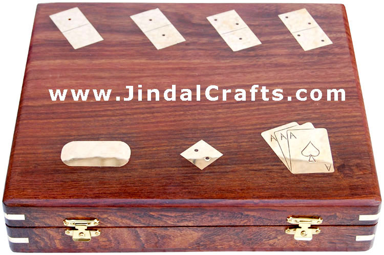 Tarot Card / Dice / Domino Box - India Traditional Game