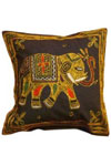 Decorative Indian cushion covers in a wide variety of colors and designs are being offered by Jindal Crafts. Embellished with traditional Indian handwork, these cushion covers from India are ideal for your sofa, chair, and couch or even for your outdoor l