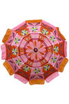 Sun umbrella for home garden. Use them at beach this summer. Made in colorful fabric with applique embroidery. Enjoy family lunches under soothing shades of these umbrellas.