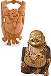 Happy Buddha is symbol of wealth. It is considered for Good Luck. It is believed that keeping Laughing Buddha, brings wealth and prosperity.