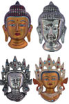 We have a unique collection of Indian Art Masks Including Tribal Masks, Buddha Mask, Hindu Deities etc.