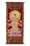 Jindal Crafts proudly presents a rich collection of traditional Buddhist Thangka paintings that originated between 7th and the 12th centuries. Its variety and iconography conveys much about the spiritual practice of Buddhists and the Tibetan worldview.