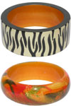 An exclusive range of wooden jewelry consisting jewelry made of sandalwood, rose wood and kadam wood.